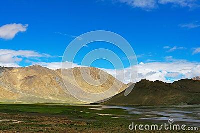 The scene of tibet