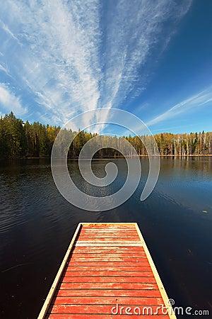 Scene of tranquility Stock Photo