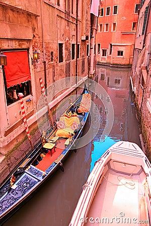 Scene from Venice