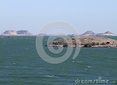 Scenery around Lake Nasser