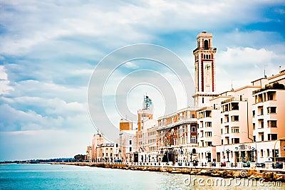 Scenery in Bari