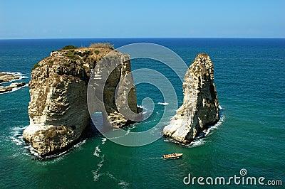 Scenery in Beirut Lebanon