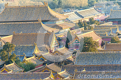 Scenery of Forbidden City