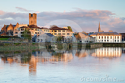 Scenery in Limerick city
