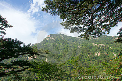 Scenery of Mount Taishan