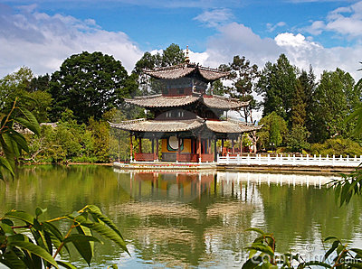 A Scenery Park In Lijiang China #2 Stock Photography - Image: 1663312