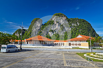 Scenery of Phang Nga Province