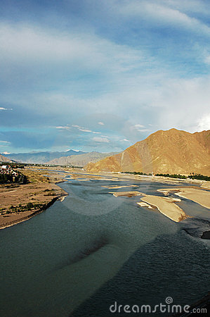 Scenery In Tibet Royalty Free Stock Photography - Image: 12678167