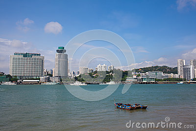 The scenery of Xiamen