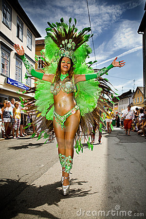 Scenes of Samba Editorial Stock Photo