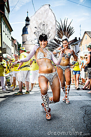 Scenes of Samba Editorial Photography