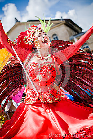 Scenes of Samba Editorial Image