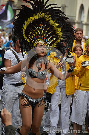 Scenes of samba festival Editorial Photography
