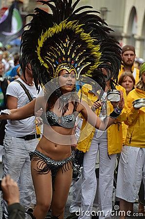 Scenes of samba festival Editorial Photography