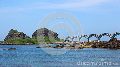 Scenic area at Taitung County, Taiwan