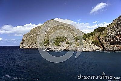 Scenic Calobra in Mallorca