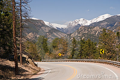 Scenic Colorado highway