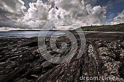 Scenic Cornwall coastline