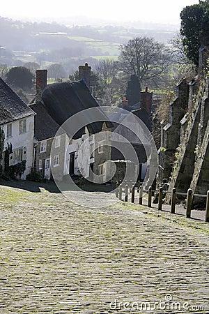 Scenic English lane