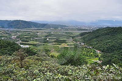 Scenic farming area at Yilan