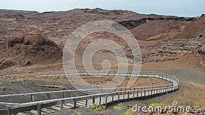 Scenic Galapagos Boardwalk