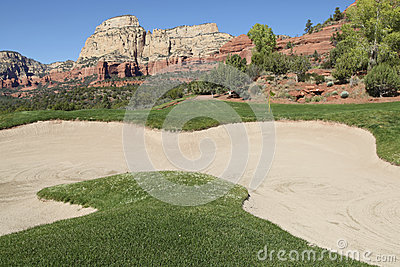 Scenic Golf Hole