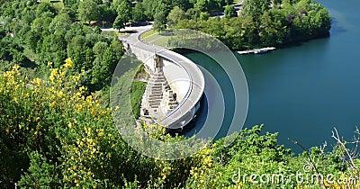 Scenic hydroelectric dam