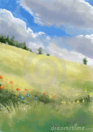 Scenic illustration 09