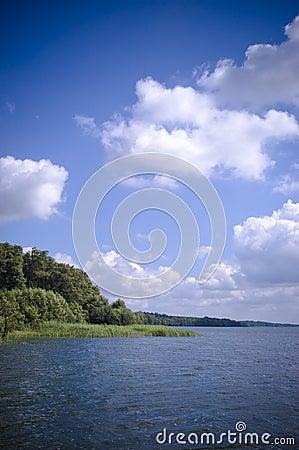 Free Scenic Lake Royalty Free Stock Photo - 2974845