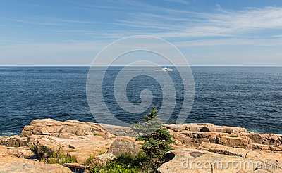 Scenic Maine Coastline