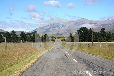Scenic mountain road