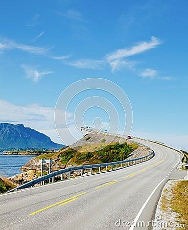 Free Scenic Ocean Road Stock Images - 22134194
