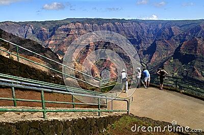 Scenic Overlook Waimea Canyon