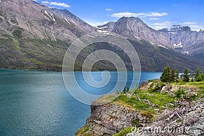 Scenic Saint Mary lake