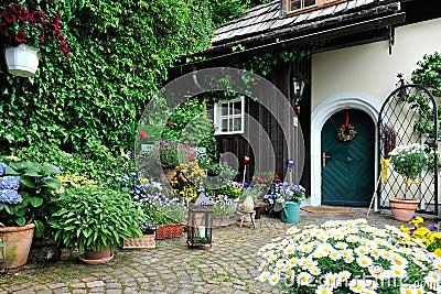 Scenic Small Garden