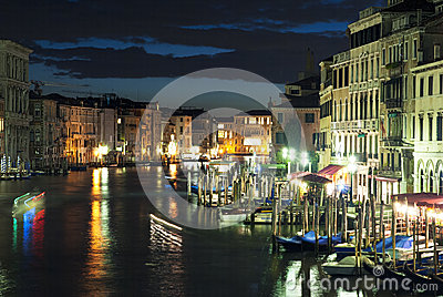Scenic Venice Editorial Stock Photo