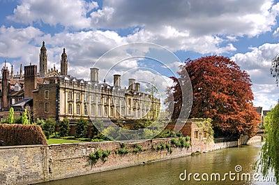 Scenic view of Cambridge city