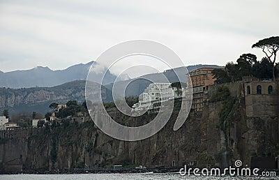 Scenic view of Capri Island, Italy