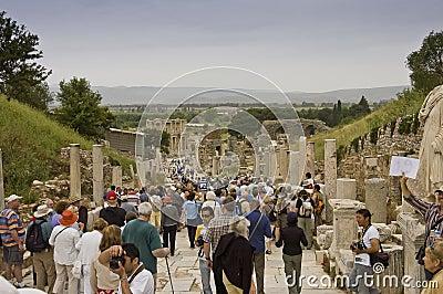 Scenic view of Ephesus site Editorial Photo