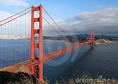 Scenic View of the Golden Gate Bridge