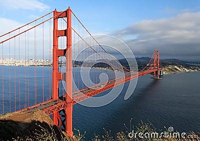 Scenic View of the Golden Gate Bridge