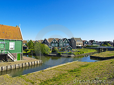 Scenics Cottages in Marken, Netherlands