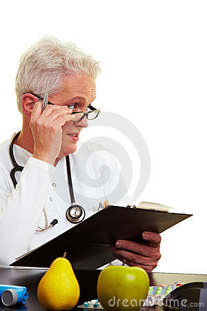 Free Sceptical Doctor Royalty Free Stock Photo - 12914765