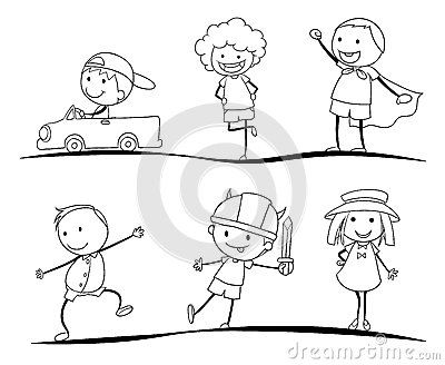 Scetches of kids