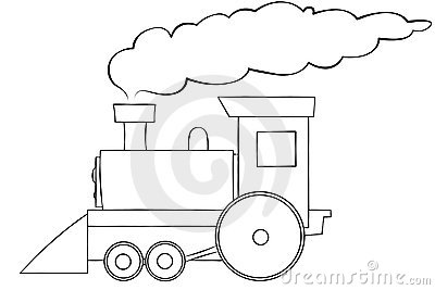 Sch ma train de dessin anim image libre de droits image 6419926 - Train dessin anime chuggington ...