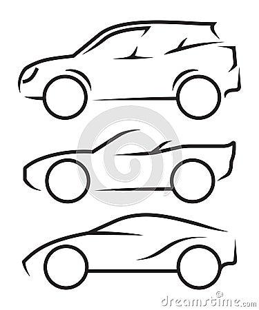 sch ma voiture illustration de vecteur image 47013798. Black Bedroom Furniture Sets. Home Design Ideas
