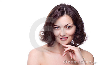Schöne von mittlerem Alter Frau