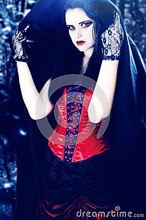 Schöner Vampir