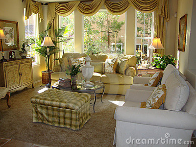 Pictures Beautiful Living Rooms on Home   Stock Photography  Beautiful Living Room
