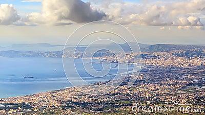 Schacht von Neapel Neapel, Italien Geschossen auf Kennzeichen II Canons 5D mit Hauptl Linsen stock video footage